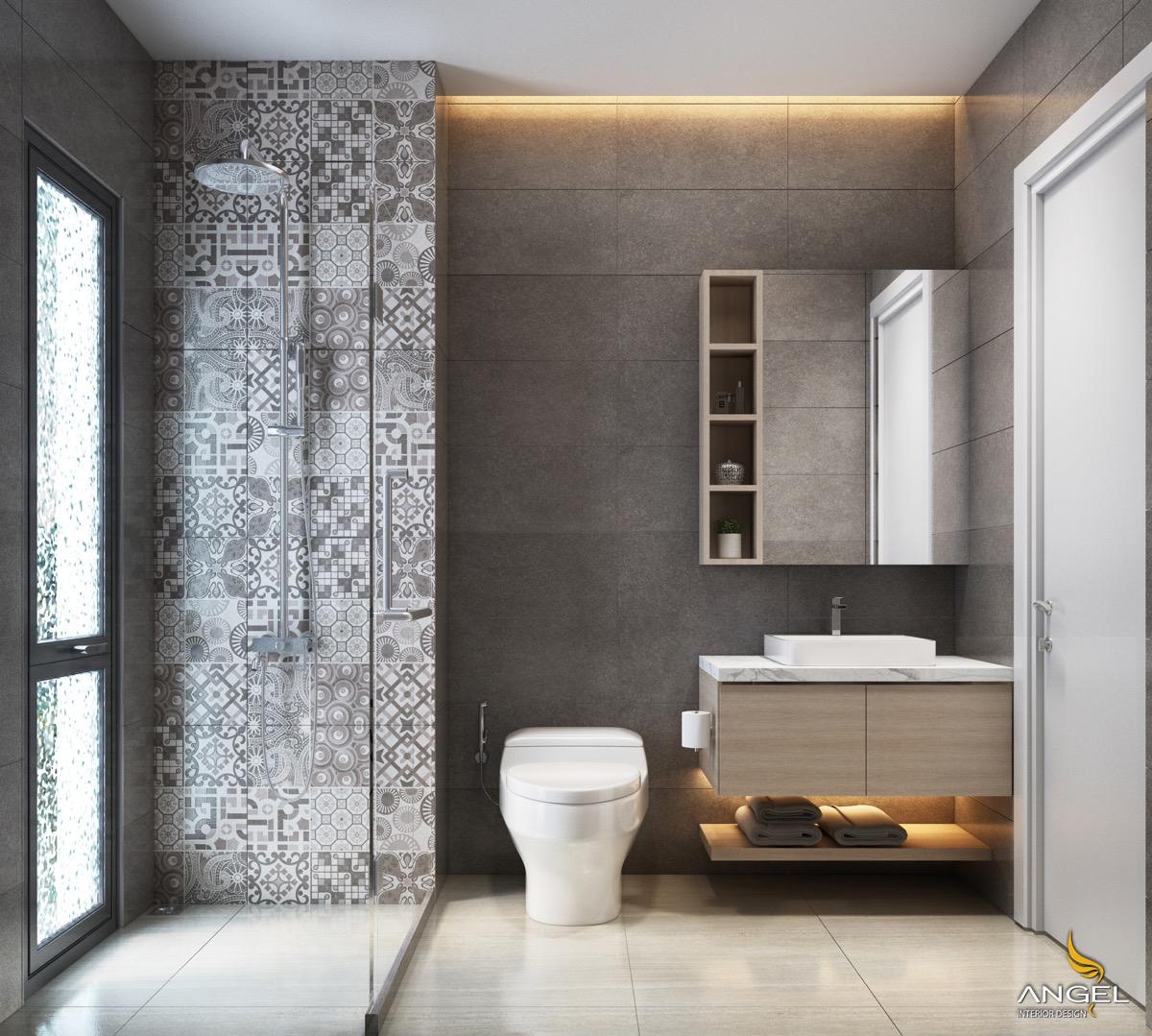 Những Mẫu Thiết Kế Nội Thất Phòng Tắm Tuyệt Vời Năm 2018