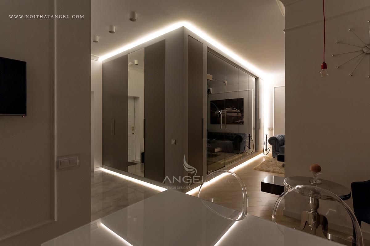 Interior Design For Elegant Luxury Apartment